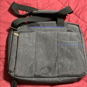 ECO STYLE Black Top Load Checkpoint Laptop Bag